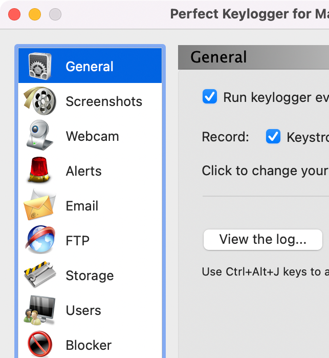 Perfect Keylogger for Mac Full - Retina display support